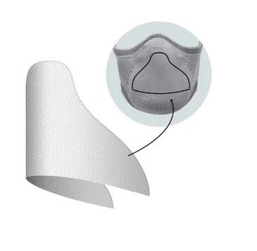 Suporte de Filtro para Máscara Fiber Tech