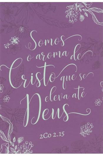 Bíblia NVT - Aroma de Cristo (Soft touch - Letra grande)