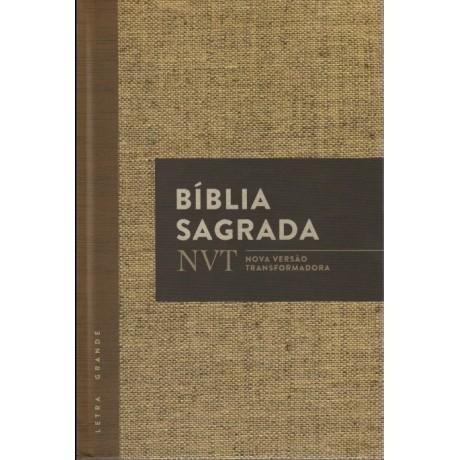 Bíblia NVT - Juta (Capa dura - Letra grande)
