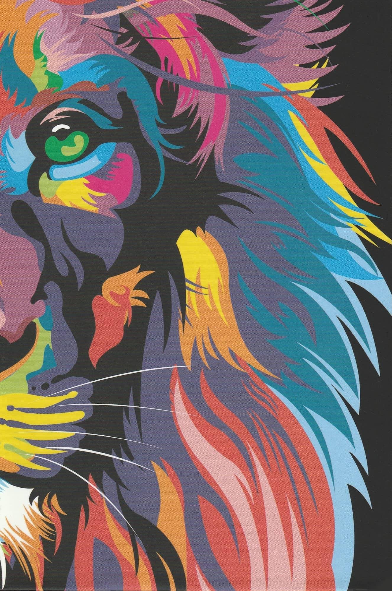 Bíblia NVT - Lion Color (Soft touch - Letra grande)