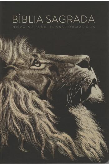 Bíblia NVT - Lion Head (Soft touch - Letra grande)