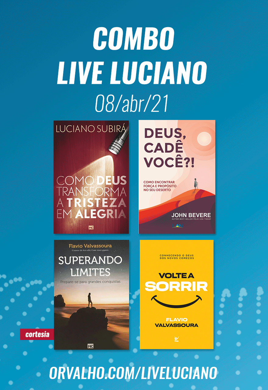 COMBO LIVE LUCIANO - 08/abr/2021