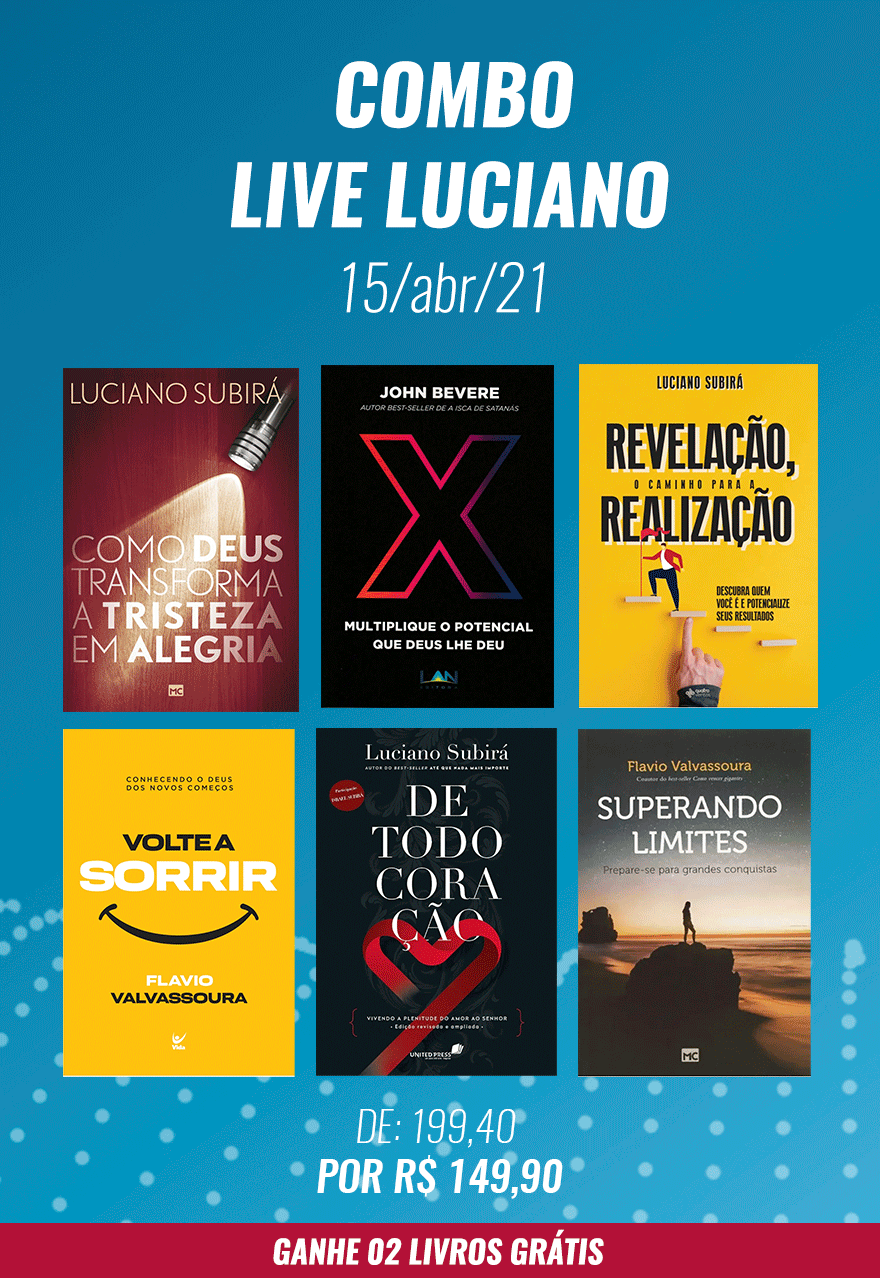 COMBO LIVE LUCIANO - 15/abr/2021