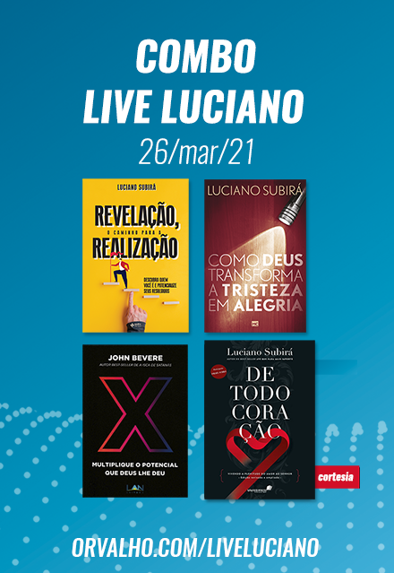 COMBO LIVE LUCIANO - 26/mar/2021