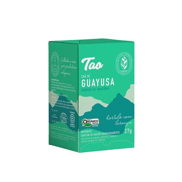 Chá de Guayusa  Hortelã com Laranja - 18 sachês