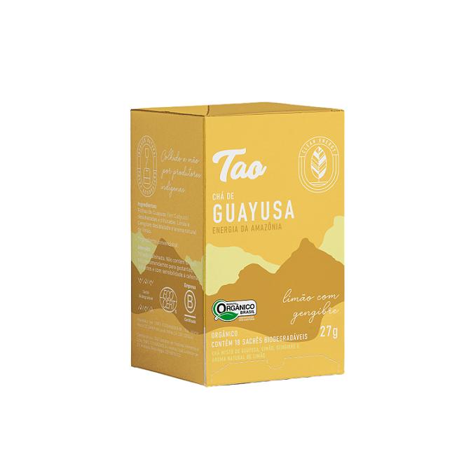 Chá de Guayusa Limão com Gengibre -18 sachês