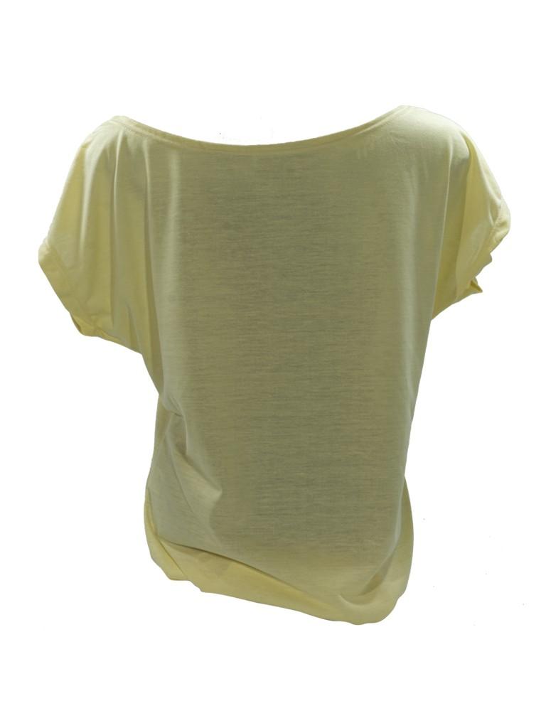 Camiseta Feminina Poliester Gola Canoa