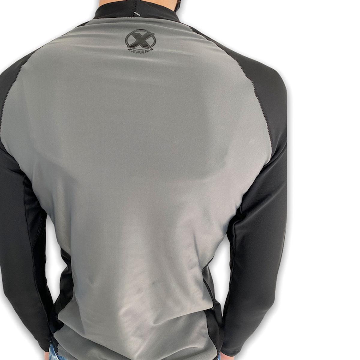 Camisa Lycra Basic unissex Adulto Manga Longa Expans