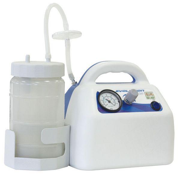 Aspirador Cirúrgico Evolution 1500 C/ FR. 1,5L BIV - Protec