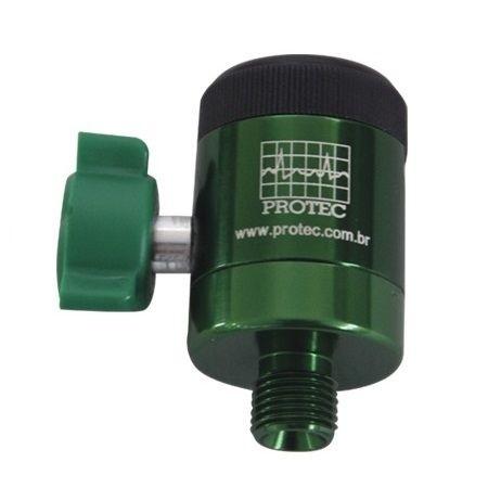 Fluxômetro Digital 0-15 LPM  C/ P.12  Oxigênio - Protec