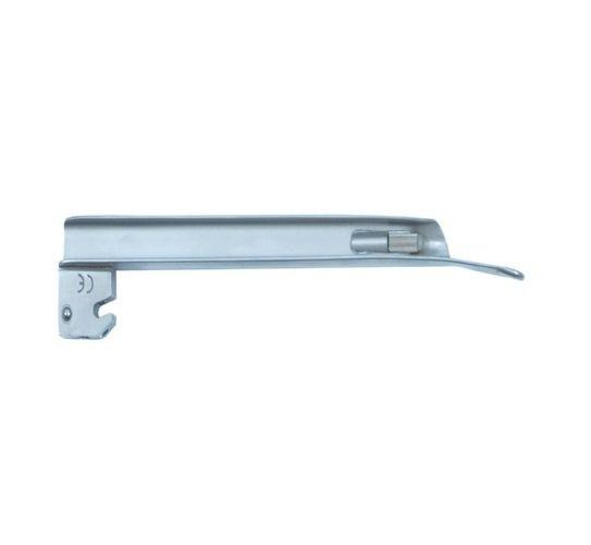 Lâmina de Aço Inox Convencional P/ Laringoscópio Reta 3 - Protec
