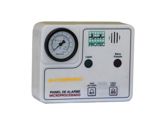 Painel Alarme Rede de Ar Comprimido Microprocessador - Protec