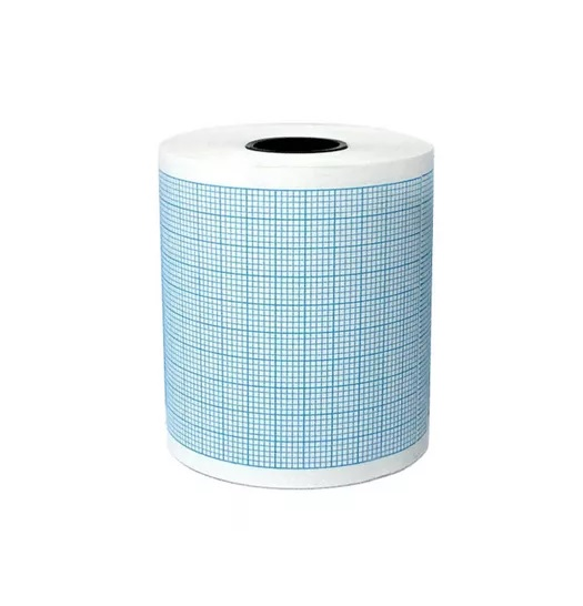 Papel para Eletrocardiógrafo ECG 50mm x 20m - Tecnoprint