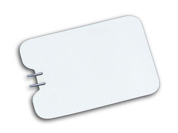 Placa Infantil Aço Inox - Deltronix