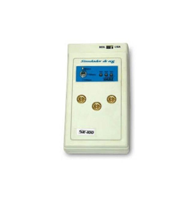 Simulador Oximetria e Eletrocardiografo (ECG / SPO2) Analógico - SX-100 - Emai