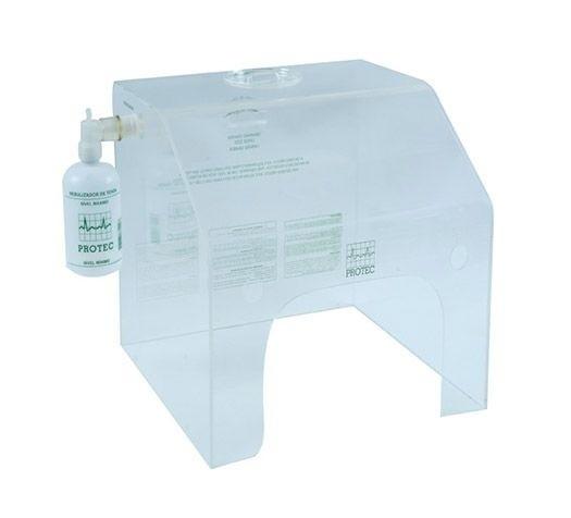 Tenda de Acrílico Pequena 35X27X35CM - Protec