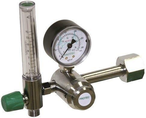Válvula Redutora C/ Fluxômetro de Oxigênio - Protec