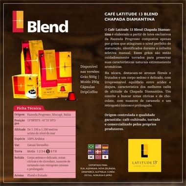 Café Blend Cápsulas | Cartucho 10 cápsulas - compatível Nespresso