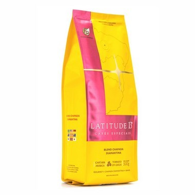 Café Latitude 13 Blend Torrado em Grãos (500g)