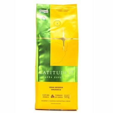 Café Latitude 13 Orgânico Gran Reserva - Torrado em Grãos (500g)