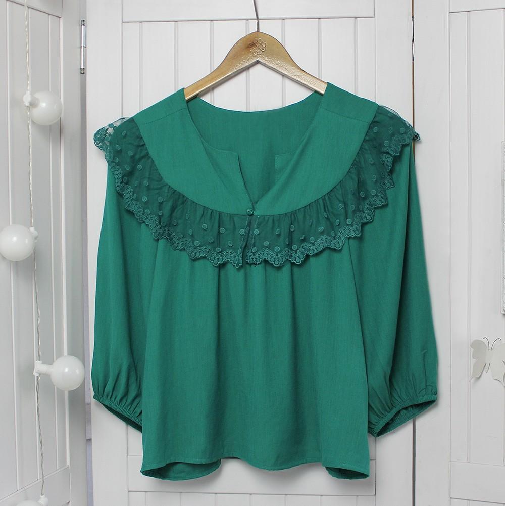 Blusa Stefani Verde