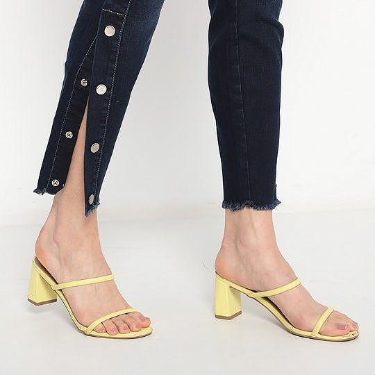 Calça Jeans Bia Colcci Botões Laterais