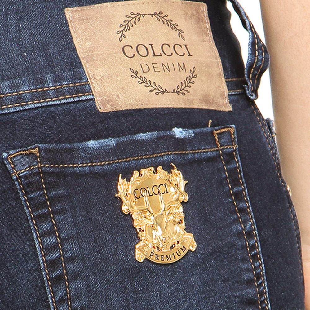 Calça Jeans Tina Colcci c/ Botões Dourados