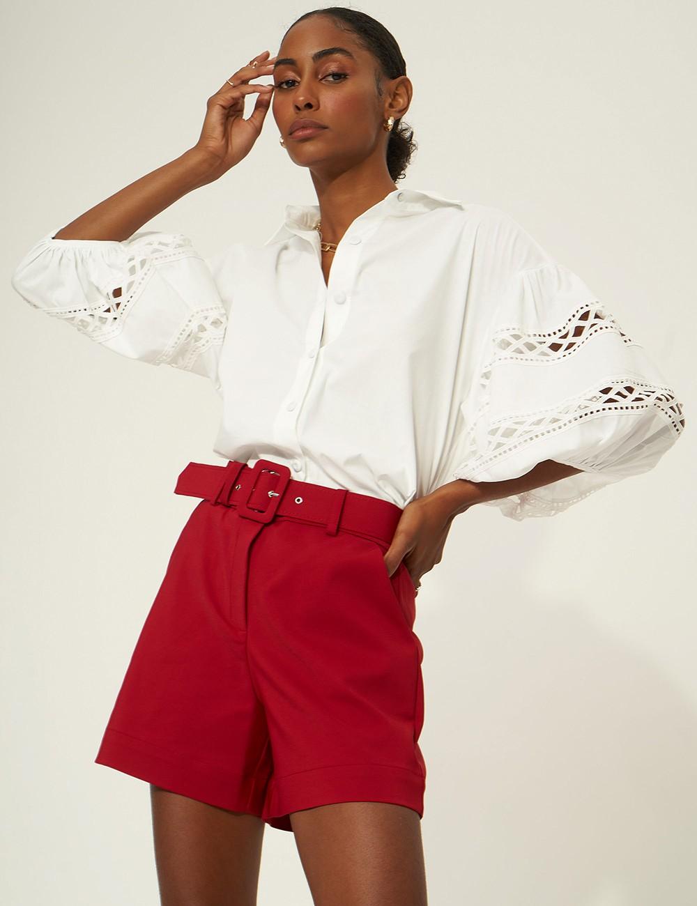 Camisa Stela Off White