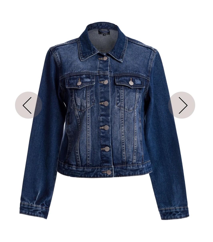Jaqueta jeans estonada
