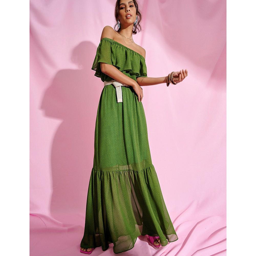 Vestido Laura Mykonos Verde