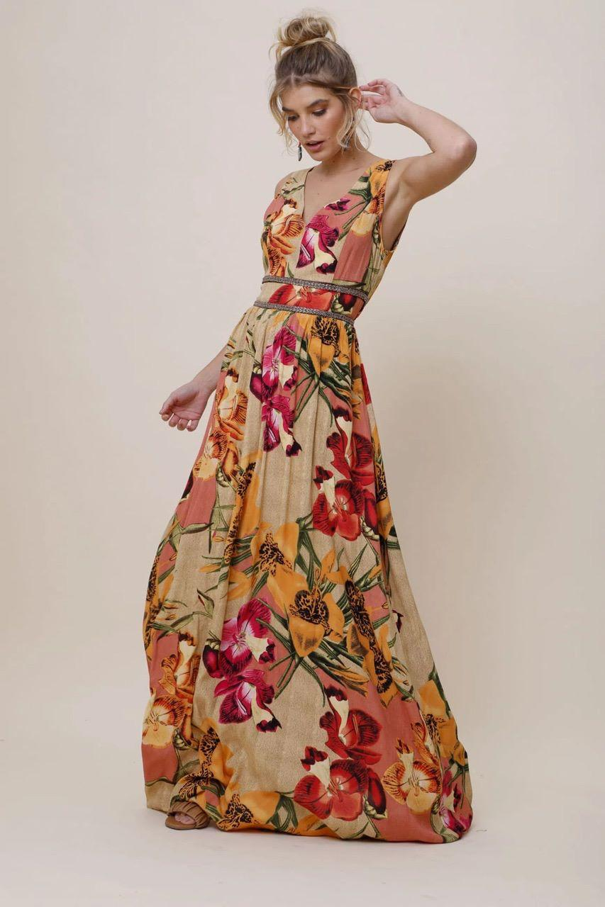 Vestido Longo Fresh Botanic