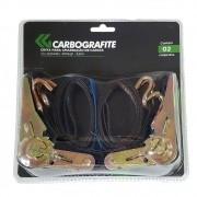 Cinta para Amarração de Cargas CARBOGRAFITE CG 250446 - 25mm - 400kg - 4,6m (Blister com 2 peças)