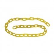 Corrente Plástica CARBOGRAFITE Amarela 10mm - 10 metros