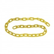Corrente Plástica CARBOGRAFITE Amarela 10mm - 5 metros