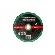 Disco de Corte CARBOGRAFITE Aço Carbono CG-C 178 x 3,2 x 22,2mm