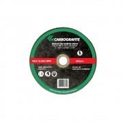 Disco de Corte CARBOGRAFITE CG-C - Aço Inoxidável - 115 x 1,0 x 22,2mm