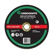 Disco de Desbaste CARBOGRAFITE CG-D 115 x 6,4 x 22mm