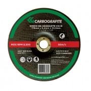 Disco de Desbaste CARBOGRAFITE CG-D 178 x 6,4 x 22mm