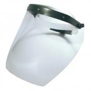 Face Shield Protetor Facial CARBOGRAFITE T2000 Incolor Com Catraca