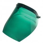 Face Shield Protetor Facial CARBOGRAFITE T2000 Verde Com Catraca