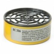 Filtro CARBOGRAFITE RC 206 - Embalagem com 6 unidades