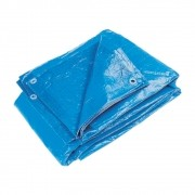Lona Plástica CARBOGRAFITE Azul | 260 Micra 3m x 3m