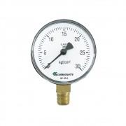 Manômetro CARBOGRAFITE AP Acetileno | 0 - 40kgf/cm²