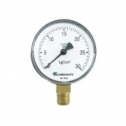 Manômetro CARBOGRAFITE BP Acetileno  | 0-3kg/Cm²