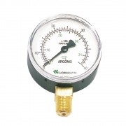 Manômetro CARBOGRAFITE BP Arg./CO2  | 0-40L/Min.