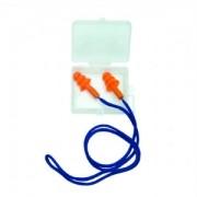 Protetor Auricular CARBOGRAFITE Atenuação 13 dB - em silicone, cordão e caixa protetora / CG 38S