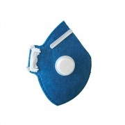Respirador Descartável CARBOGRAFITE CG 411V Classe PFF1