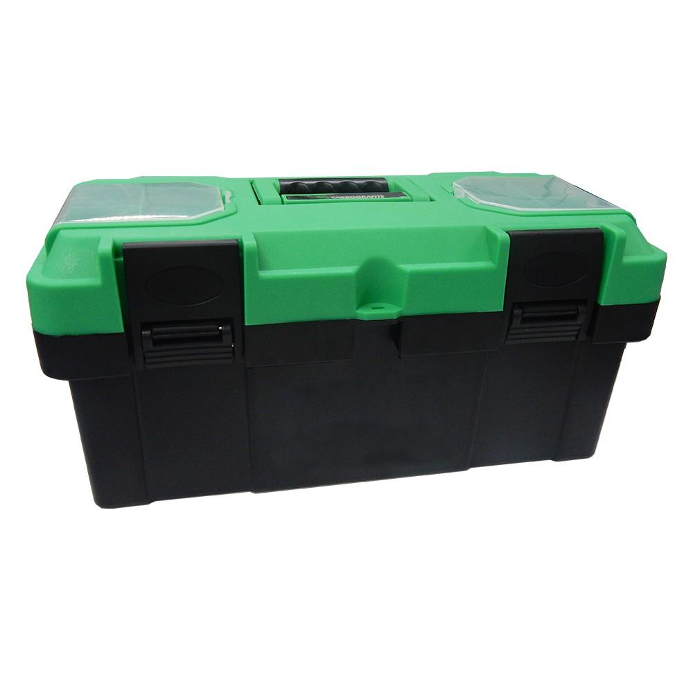 Caixa Porta Ferramentas CARBOGRAFITE CG 8019 - 45 x 23 x 20cm