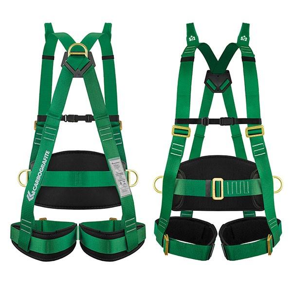 Cinturão Paraquedista CARBOGRAFITE Evolution 2P