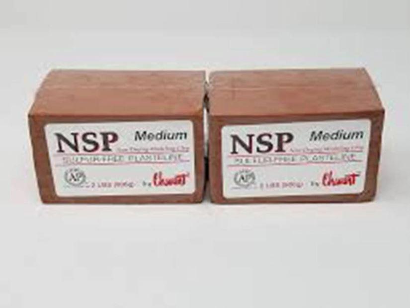 Clay Chavant NSP Medium Marrom para modelagem